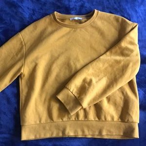 ZARA MUSTARD YELLOW SWEATER